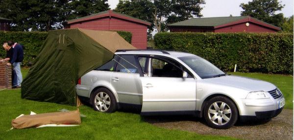 Car awnings, car tent, camping accessories - Caranex